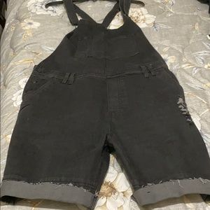 Publish Today for Tomorrow Black Overalls